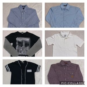 👦🏻 (Small, 7-8) Bundle of 6 tops